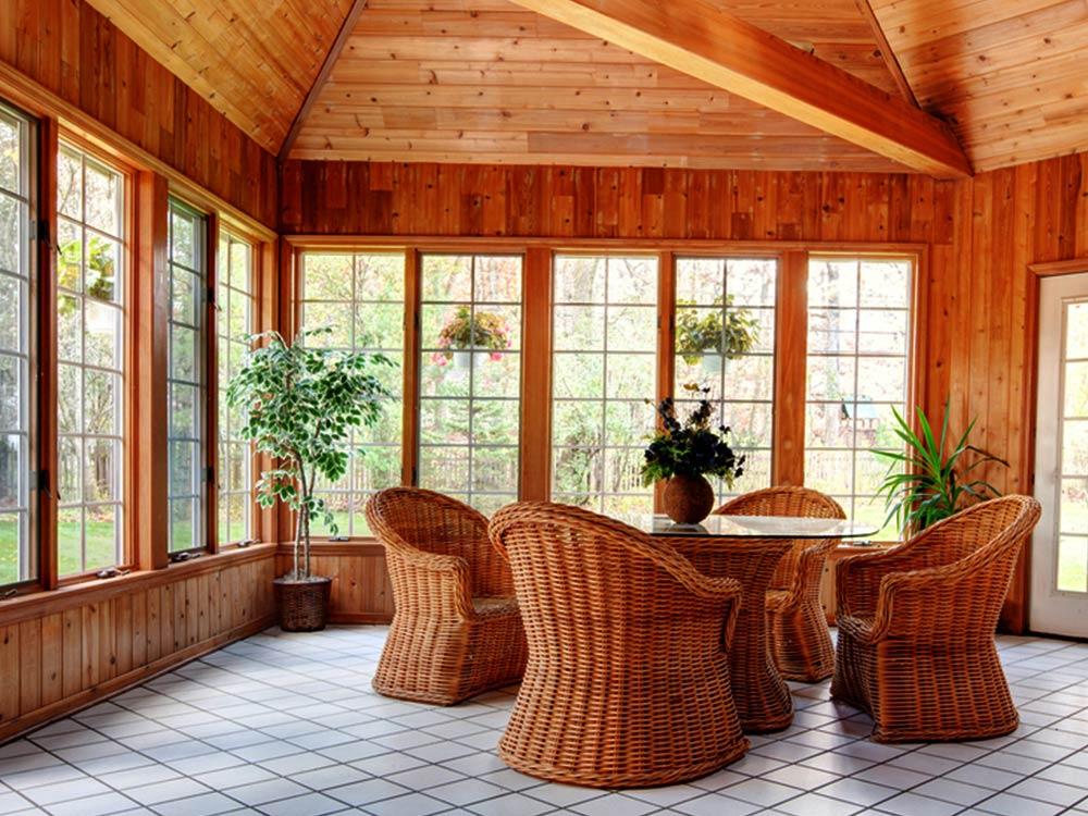 Ferns - Queenslander Room Makeover - Transform a Sparse Porch with Simple Accessories